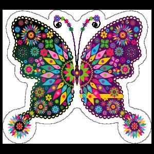 Fun Butterfly Sticker
