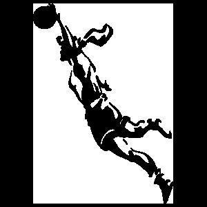 Detailed Girl Basketball Player Sticker