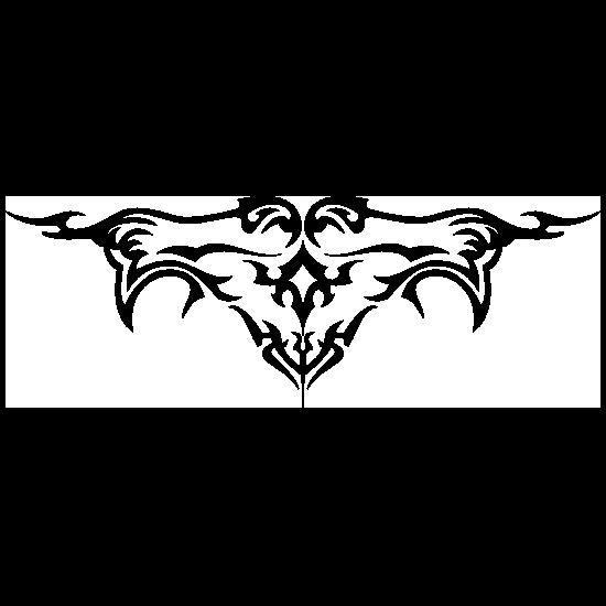 Gothic Border Sticker