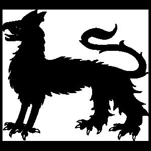 Griffin Gryphon Dragon Sticker
