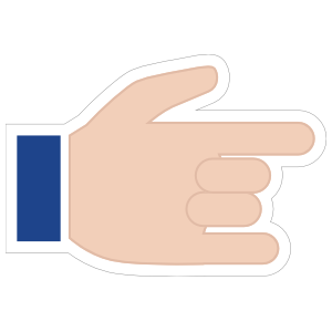 Hands Devil Horns with Thumb Up Emoji Sticker