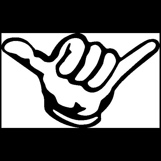 JDM HANG LOOSE Decal 139x88mm US01522 Aufkleber // Autoaufkleber
