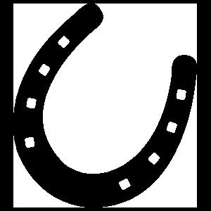Hardy Horseshoe Sticker