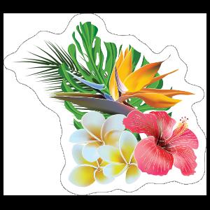 Hawaiian Flower Bouquet