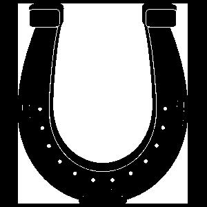 Detailed Horseshoe Sticker