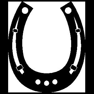 Horseshoe With Wholes Sticker
