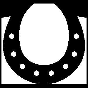 Simple Horseshoe Sticker