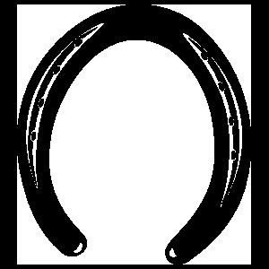 Horseshoe With Nails Sticker