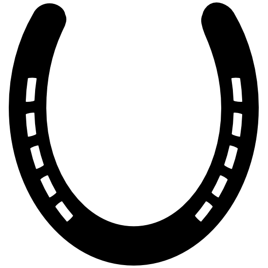 Clean Horseshoe Sticker