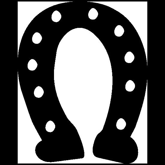 Horseshoe Drawing Sticker
