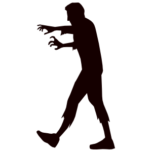 Hunting Zombie Sticker