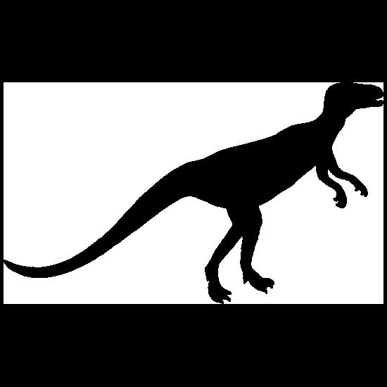 Thin Hypsilophodon Dinosaur Sticker