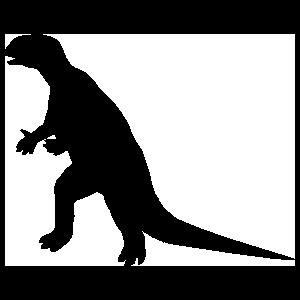 Large Hypsilophodon Dinosaur Sticker