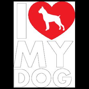 WitnyStore Husky I Love My Dogs Sticker Heart Puppy Pet Cute Animals Decal Vinyl Bumper D/ÉCOR CAR Truck Locker Window Wall Notebook