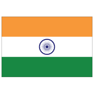 India Country Flag Magnet