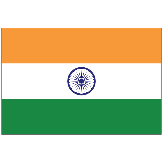 India Country Flag Sticker