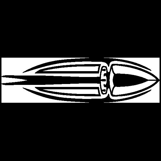 Indian Oval Spear Sticker