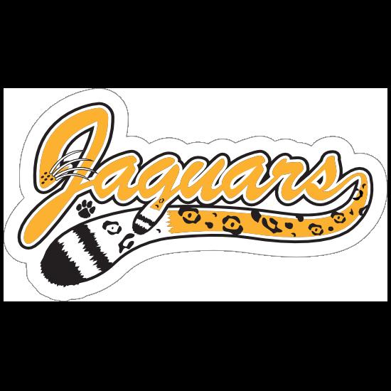 Jaguar Logo Type Mascot Sticker