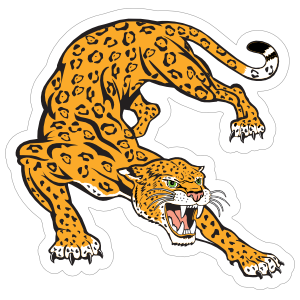 Jaguar Mascot Sticker