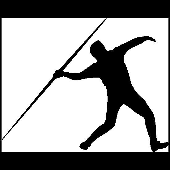 Javelin Runner Sticker