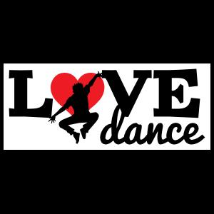 Jumping Love Dance Sticker