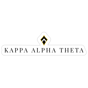 Kappa Alpha Theta Kite Sticker