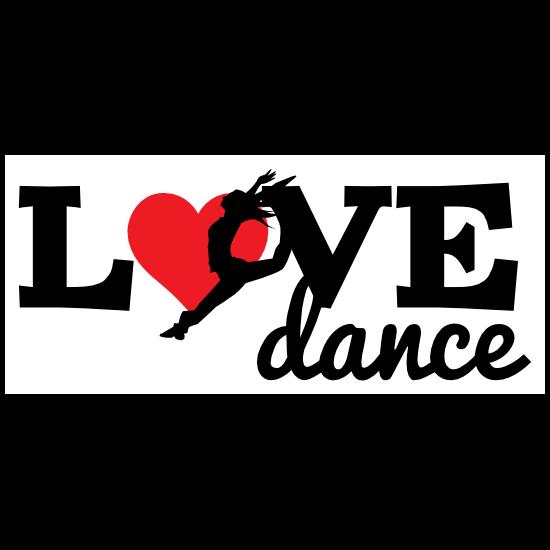 Landing Love Dance Sticker