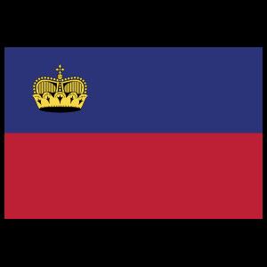 Liechtenstein Country Flag Magnet