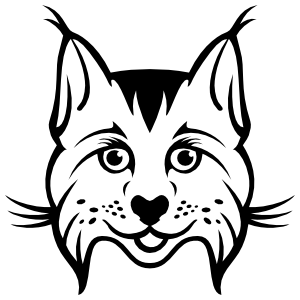 Happy Lynx Sticker
