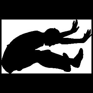 Long Jump Sticker