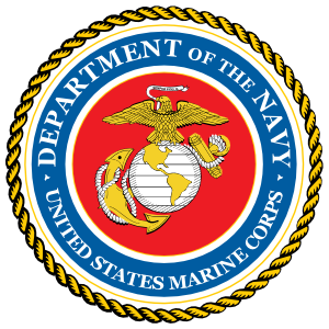 Marine Seal Department Of The Navy  Magnet