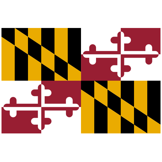 Maryland Md State Flag Magnet