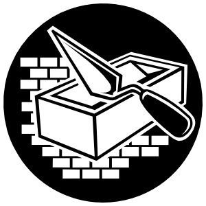Masonry Construction Sticker