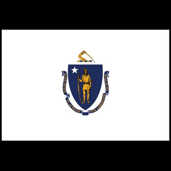 Massachusetts Ma State Flag Magnet