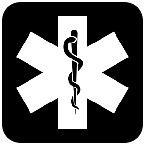 Medical Symbol Sticker