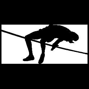 Men's High Jump Sticker