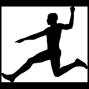 Men's Long Jump Sticker