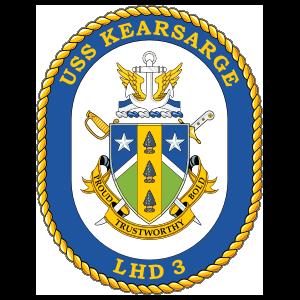Navy Amphibious Assault Ship Lhd 3 Uss Kearsarge Sticker