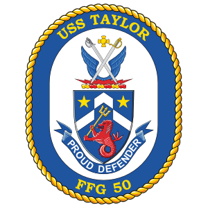 Navy Frigate Ship Ffg 50 Uss Taylor Sticker