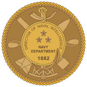 Navy Intelligence Director Seal Sticker