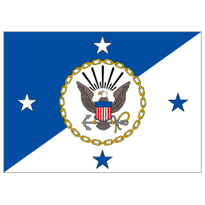 Navy Operations Chief Flag Sticker