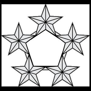 Navy Rank Fleet Admiral Sticker