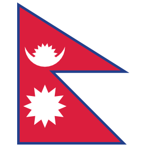Nepal Country Flag Magnet
