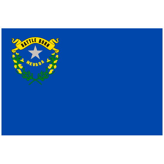 Nevada Nv State Flag Magnet