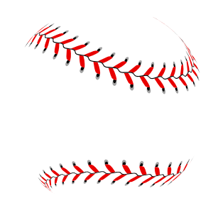New Baseball Seams Sticker