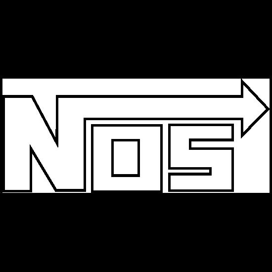 Nos Nitrous Oxide Outline Sticker