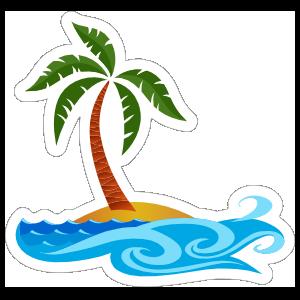 Ocean Beach Sticker