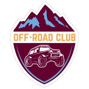 Off Road Club Sticker