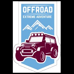 Off Road Extreme Adventure Sticker