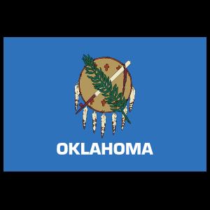 Oklahoma Ok State Flag Magnet